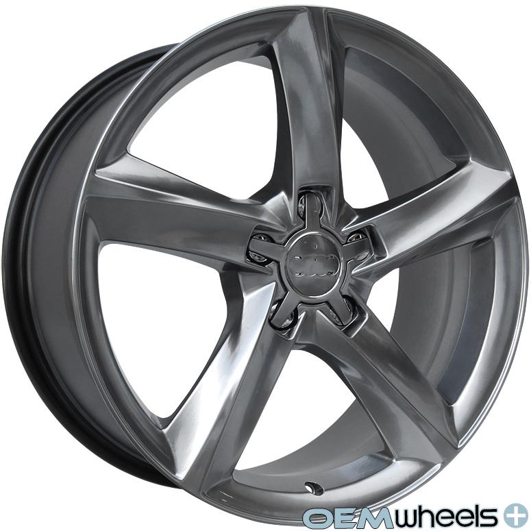 """18"""" s Line Style Wheels Fits Audi VW A4 S4 A5 S5 A6 S6 A8 S8 Q5 CC Passat Rims"""