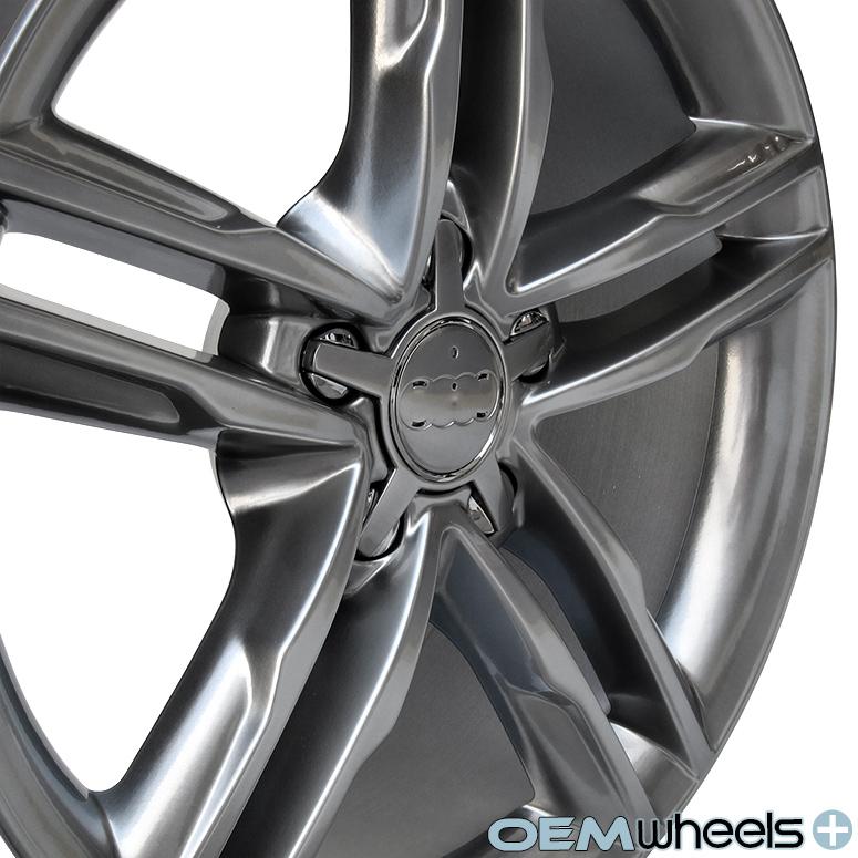 18 Hyper Black Sline Style Wheels Fits Audi A5 S5 RS5 B8 8T Coupe