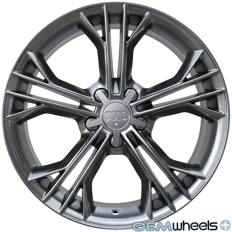 18 HYPER S LINE STYLE WHEELS FITS VW GOLF R R32 GTI JETTA MK5 MKV MK6