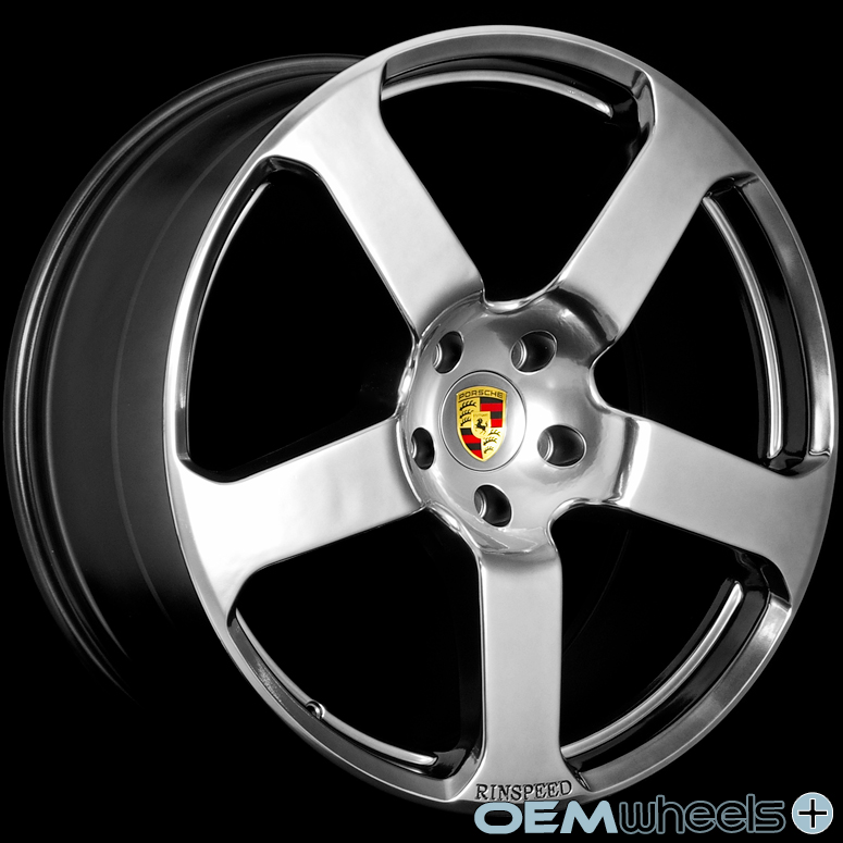 22 HYPER BLACK WHEELS FITS PORSCHE CAYENNE S GTS TURBO AUDI Q7 VW