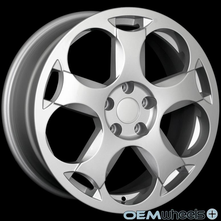 """18"""" Lambo Gallardo Style Wheels Fits Audi A3 A6 TT TTS 8P C6 MK2 Quattro VW Rims"""
